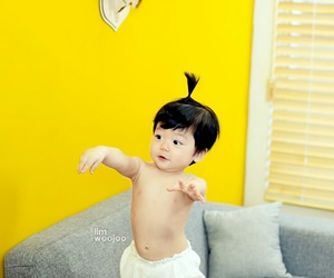 asian, baby, and korean image