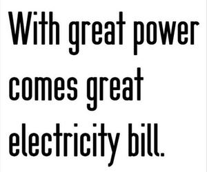 electricity, funny, and life image