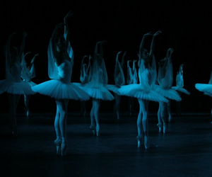 ballerina, ballet, and dancers image