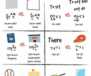 korean, learning, and words image