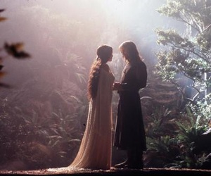arwen, aragorn, and lord of the rings image