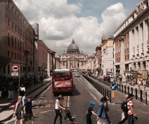 city, rome, and trip image