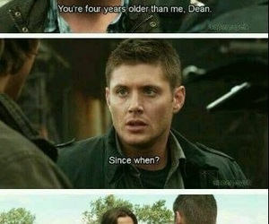 supernatural, funny, and dean winchester image