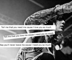 bring me the horizon, don't go, and bmth image