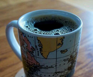 coffee, world, and cup image
