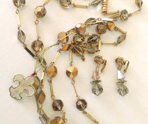 crystal, metallic, and jewelry set image