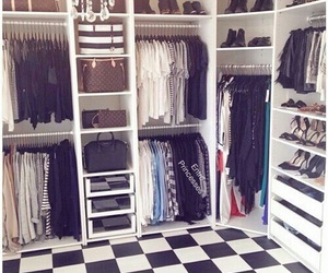 clothes, closet, and house image
