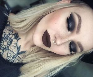 blondies, gothic, and makeup image
