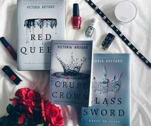 book and red queen image