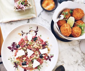 falafel, food, and lunch image