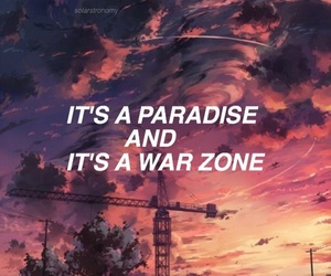 quotes, paradise, and zayn image