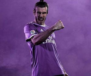 purple, real madrid, and gareth bale image