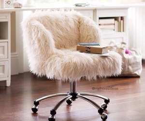 chair, room, and girly image