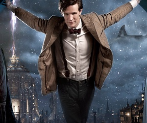 doctor who and matt smith image