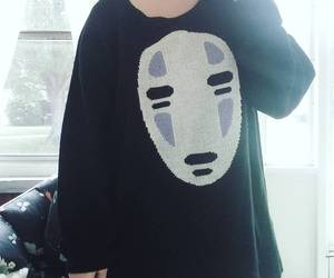 clothes, no face, and spirited away image