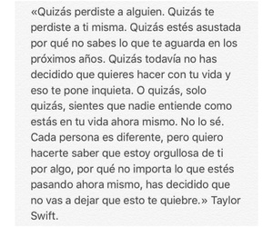 frases, quotes, and taylor image