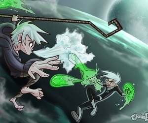 jack frost and danny phantom image