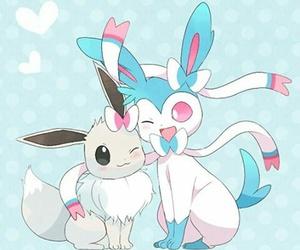 pokemon, eevee, and sylveon image