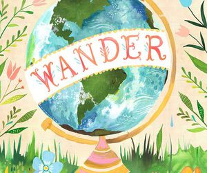 frases, wander, and world image