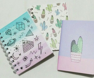art, cactus, and doodles image