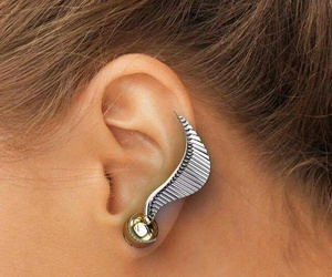harry potter, earrings, and accessories image