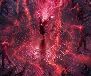 scarlet witch and wanda maximoff image