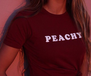 peachy, red, and tumblr image