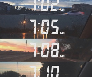 time, snapchat, and sky image