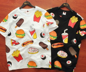 fashion, fast food, and hipster image
