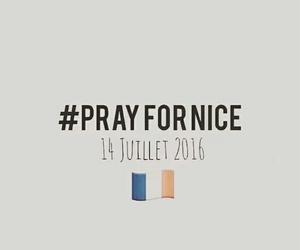 france, nice, and attack image