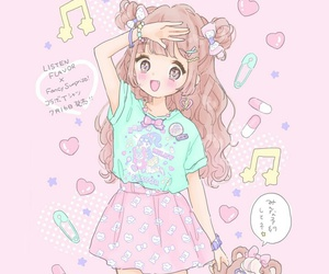 anime, baby, and baby girl image