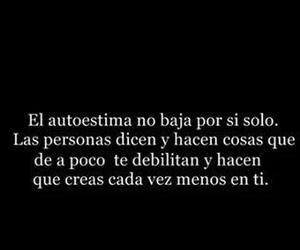 autoestima, frases, and people image