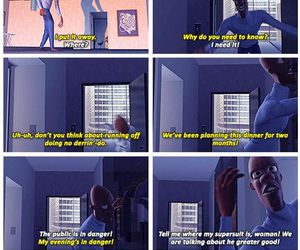 funny, The Incredibles, and disney image