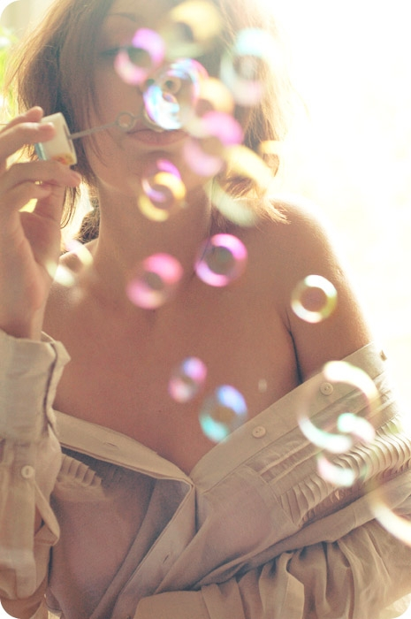 bubbles and girl image