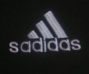 adidas, sad, and grunge image
