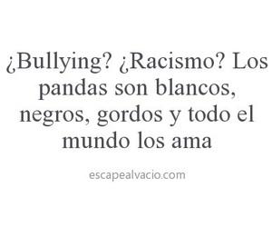 racismo and bullying image