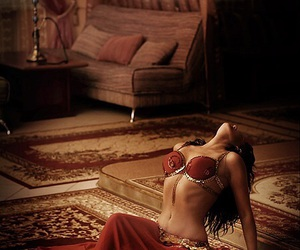 arabian, bellydance, and arabic image