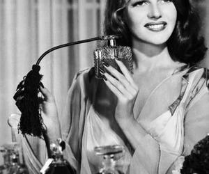 vintage, rita hayworth, and perfume image