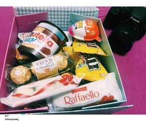 box, chocolate, and enjoy image