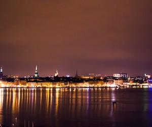 light and sweden image