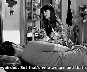 new girl, weirdo, and jess image