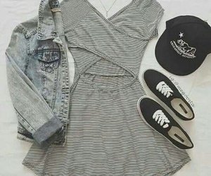 fashion, dress, and outfit image