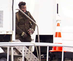 Harry Styles, dunkirk, and soldier image