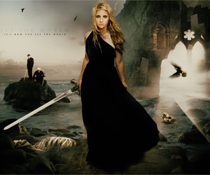 buffy, buffy the vampire slayer, and angel image