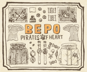 one piece, bepo, and pirates heart image