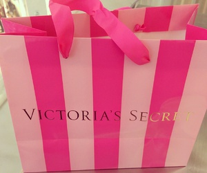 pink, shopping, and victoria's secret‎ image