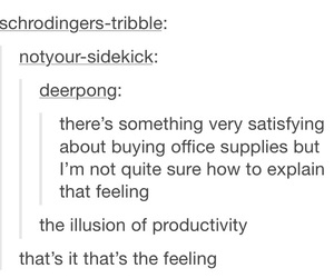 illusion, office, and productive image