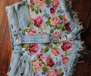 fashion, pattern, and flowers image