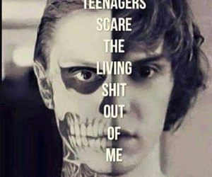 teenager, my chemical romance, and american horror story image