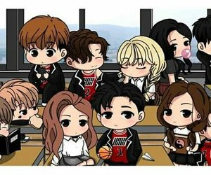 Ikon, kpop, and blackpink image